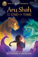 book jacket for Aru Shah and the End of Time