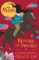 book jacket for Before the Sword