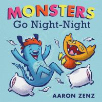 book jacket for Monsters Go Night-Night