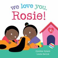 book jacket for We Love You, Rosie