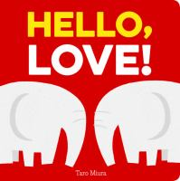 book jacket for Hello, Love!