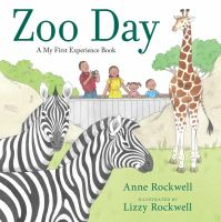 book jacket for Zoo Day