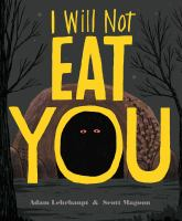 book jacket for I Will Not Eat You