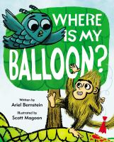 book jacket for Where Is My Balloon?