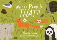 book jacket for Whose Poop is That?