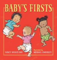 book jacket for Baby's Firsts