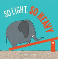 book jacket for So Light, So Heavy