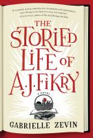 The Storied Life of A.J. Fikry jacket