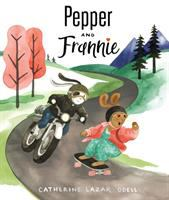 book jacket for Pepper and Frannie
