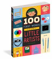 book jacket for 100 First Words for Little Artists