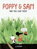 book jacket for Poppy & Sam and the Leaf Thief