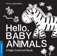 book jacket for Hello, Baby Animals : A High-Contrast Book