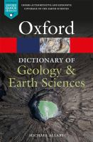 A dictionary of geology and Earth sciences by author unknown