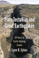 50 Years of Earth-Shaking Events by Sykes, Lynn R., author.