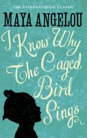 I know why the caged bird sing Book Cover