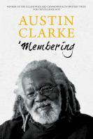 'Membering Book Cover