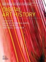 Computers and the history of art: a subject in transition