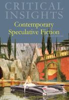Contemporary speculative fiction by author unknown