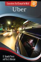 Uber by Perera, B. Yasanthi, author.