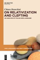 On relativization and clefting: an analysis of Italian sign language