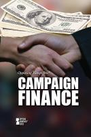 Campaign finance by author unknown
