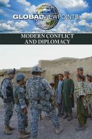 Modern conflict and diplomacy by author unknown