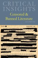 Censored & banned literature by author unknown