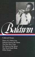 Collected Essays by James Balwin Book Cover