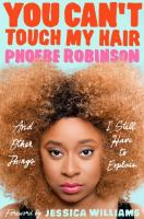 You can't touch my hair Book Cover