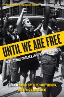 Until we are free : reflections on Black Lives Matter in Canada Book Cover
