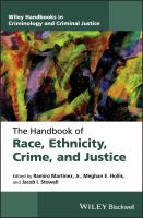 The handbook of race, ethnicity, crime and justice