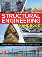 Structural engineering handbook by author unknown