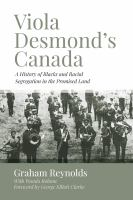 Viola Desmond's Canada Book Cover
