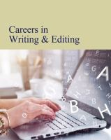Careers in writing & editing. by author unknown