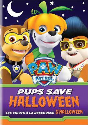 Pups Save Halloween DVD cover