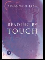 Reading by touch