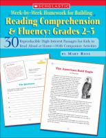 Reading Comprehension and Fluency, Grades 2-3