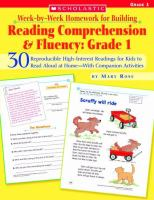 Reading Comprehension and Fluency, Grade 1