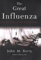 cover of The Great Influenza