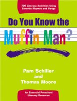 Do You Know the Muffin Man?: An Essential Preschool Literacy Resource