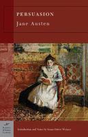 Cover of Persuasion