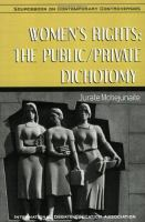 Women's rights : the public/private dichotomy