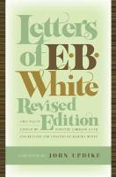 Letters of E.B. White
