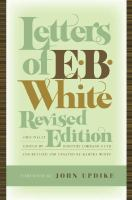 Letters of E.B. White