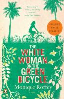 White Woman on the Green Bicycle