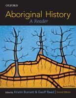 Aboriginal History : A Reader