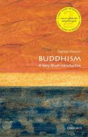 Buddhism : a very short introduction