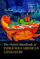 The Oxford handbook of indigenous American literature