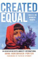 Created equal : voices on women's rights