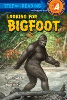 Looking for Bigfoot
